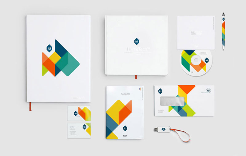 found these cool branding designs from graphic exchange website a